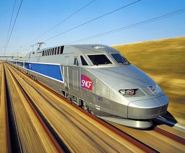 法國高鐵TGV子彈列車